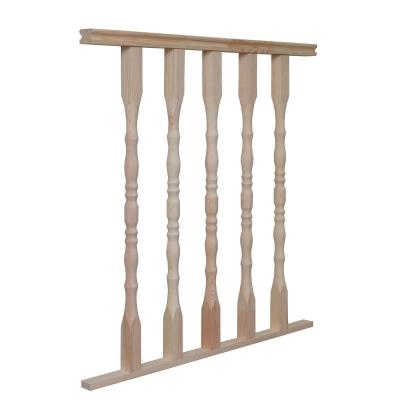 Балюстрада для деревянной лестницы