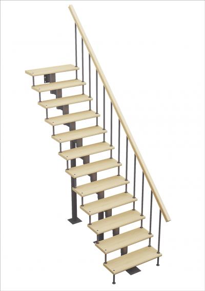 Модульная лестница Стандарт (прямой марш)